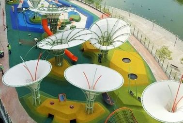 Singapore Cast-in-situ rubber flooring for playground