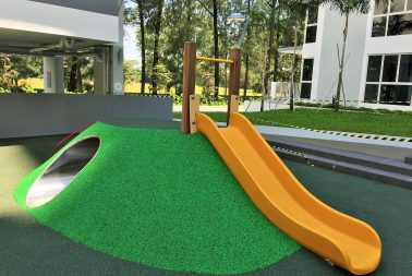 EPDM flooring supplier for recreational park in Singapore