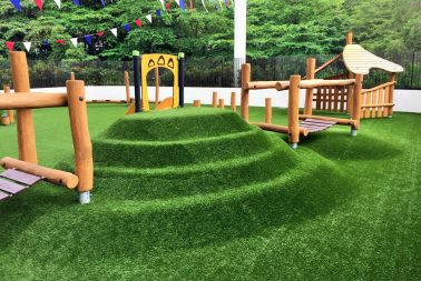 Singapore artificial grass turf supplier for playground