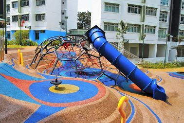 Singapore High Quality cast-in-situ flooring supplier for recreational park